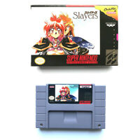 Slayers for snes game cartridge english translated