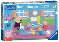 NEW! Ravensburger Peppa Pig Classroom Fun 35 piece jigsaw puzzle Age 3+ 08627