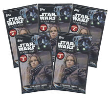 Topps Trading Cards - Star Wars: Rogue One Series 2 - 5 HOBBY PACKS LOT