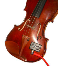 VIOLIN PICKUP, with FLEXIBLE GOOSENECK, VIOLIN PICKUP with PREAMP, Myers Pickups