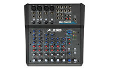NEW Alesis Multimix 8 Channel USB FX Audio Mixer Effects Interface