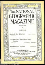 National Geographic,  Aug 1920, Antioch, Origin of American State Names