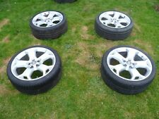 """VAUXHALL VECTRA AND ASTRA VXR 19"""" ALLOY WHEELS x 4 (MAY WELL FIT OTHER VAUXHALLS"""