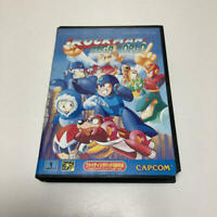 Rockman Mega World Megaman Genesis Megadrive Capcom Sega W Box From Japan Rare