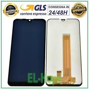 DISPLAY LCD PER NOKIA 2.2 TA-1183 TA 1184 1188 TOUCH SCREEN VETRO SCHERMO NERO