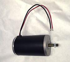 1 hp 220 Volt Kart electric DC/ac motor 3000 RPM permanent magnet 800 Watts peak