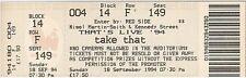 Take that vintage used ticket wembley concert 18 sep 94 robbie williams + strain