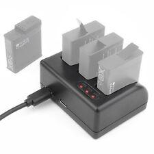 tragbares 3 Kanal USB Akku Ladegerät Micro USB für GoPro Hero 5 Hero5