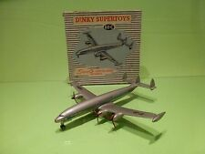 DINKY TOYS 60C SUPER G CONSTELLATION LOCKHEED - VERY  GOOD IN BOX