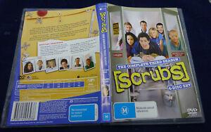 SCRUBS THE COMPLETE THIRD SEASON (4 DISC) (DVD, M)