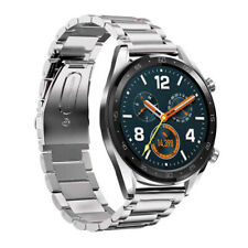Bracelet en acier inoxydable ajustable avec bracelet de 22mm pour montre Huawei