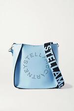 STELLA MCCARTNEY Perforated vegetarian leather bag, Blue, New, Auth, Ori$820!!!
