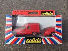 Solido Toner Gam 2130 Search And Rescue Van + Trailer