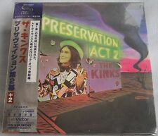 The Kinks - Preservation Act 2 (1974) JAPAN Mini LP SHM-CD (2008) +2 bonus track