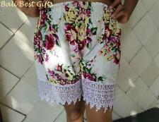 Lace Regular Size Shorts for Women