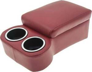 Classic Consoles Universal Fit Cruiser Bench Seat Console - Red