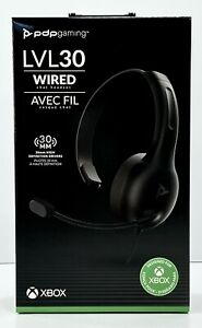 PDP Gaming LVL30 Wired Chat Headset Xbox