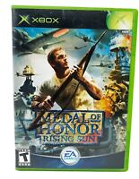 Medal of Honor Rising Sun Original Xbox Used Tested Works with Manual
