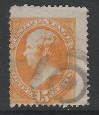 USA - 1870/1, 15c Orange Tampon - D'Occasion - Sg 154, 154a, 165 ou 165a (Cat