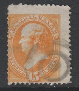 USA - 1870/1, 15c Arancione Francobollo - Usato - Sg 154, 154a, 165 O 165a (Cat