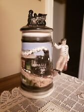Train with Conductor's Handle & Lid ~ Stein