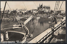 Spain Postcard - The Harbour, Palma, Mallorca   5899