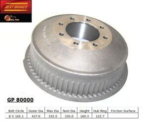 Brake Drum Rear Best Brake GP80000