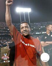 PEDRO MARTINEZ 2003 A.L. DIVISION SERIES Celebration 8X10 PHOTO Boston Red Sox