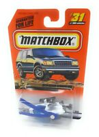 Matchbox MBX Superfast 1999 No 31 MISSION HELICOPTER Police USA exclusiv model