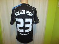"""Hamburger SV Puma Trikot 05/06 """"ADIG INVESTMENT"""" + Nr.23 van der Vaart Gr.M"""