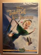 Tinker Bell And The Lost Treasure (DVD, 2009) With DMR Code, Fast Shipping