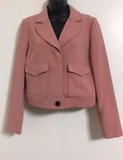 NEW Ex Debenhams Blush Pink Button Up Tailored Smart Blazer Jacket Size 8-22