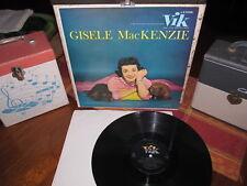 GISELE MACKENZIE Rare Vinyl Lp SELF TITLED 1956 Vik Mono Beauty!