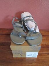 New in Box Free People Sausalito Sandals Size 38 Washed Sage