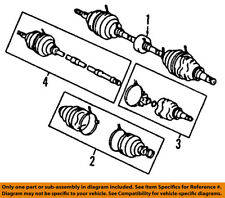 TOYOTA OEM-Front CV Axle Joint Boot 0442752891