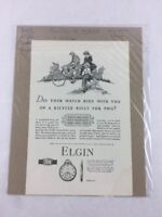 Elgin Watches Vintage Art Print Collectible Advertisement 6.5 x 10