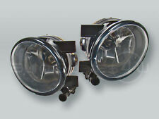 Fog Lights Driving Lamps Assy with bulbs PAIR fits 2010-2014 VW Golf MK6