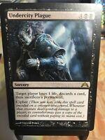 M11 NM-M Black Rare MAGIC MTG CARD ABUGames Necrotic Plague FOIL Magic 2011