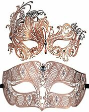 Coddsmz 2 Pack Set Masks Masquerade Ball Halloween Costumes for Men and Women R
