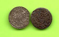 Poland Lithuania Schilling 1623 1624 Sigismund III Vilnius Two coins 627