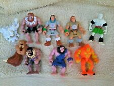 Soma figures vintage 1980 s lot of fantasy world warriors x 7 + accessories