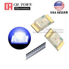 100PCS 1206 (3216) Blue Light SMD SMT LED Diodes Emitting Ultra Bright USA