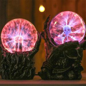 Gothic Skeleton Hand Lighting Static Induction Glass Plasma Ball Room Decoration