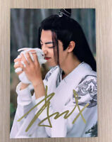 Signed Photo The Untamed Sean Xiao Hand Autograph 陈情令 肖战 size 10x15cm