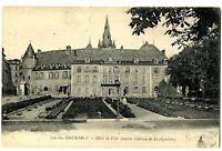 CPA 38 Isère Grenoble Hôtel de Ville ancien château de Lesdiguières