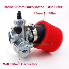 Molkt 26mm Carb Carburetor Air Filter CRF50 SSR IMR 125 140 150 cc Dirt Pit Bike