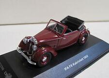 IST IFA F8 Cabrio in weinrot von 1953 Maßstab 1:43 Neuware mit OVP -CCC068