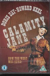 CALAMITY JANE GENUINE R2 DVD DORIS DAY HOWARD KEEL NEW/SEALED