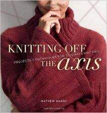 Knitting Off The Axis: Projects and Techniques for Sideways Knitting, New, Mathe