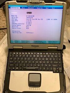 Panasonic Toughbook CF-30 Intel Core Duo 1.66GHz 1GB RAM no HDD Power Adapter